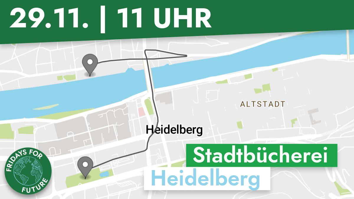 Route Klimastreik 29.11.