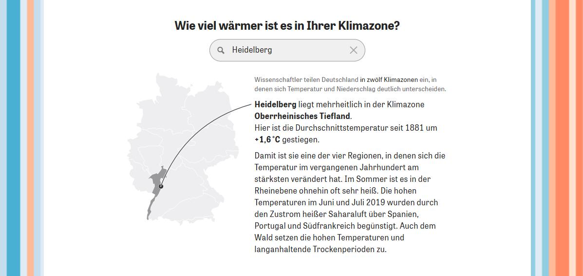 Klimawandel in Heidelberg
