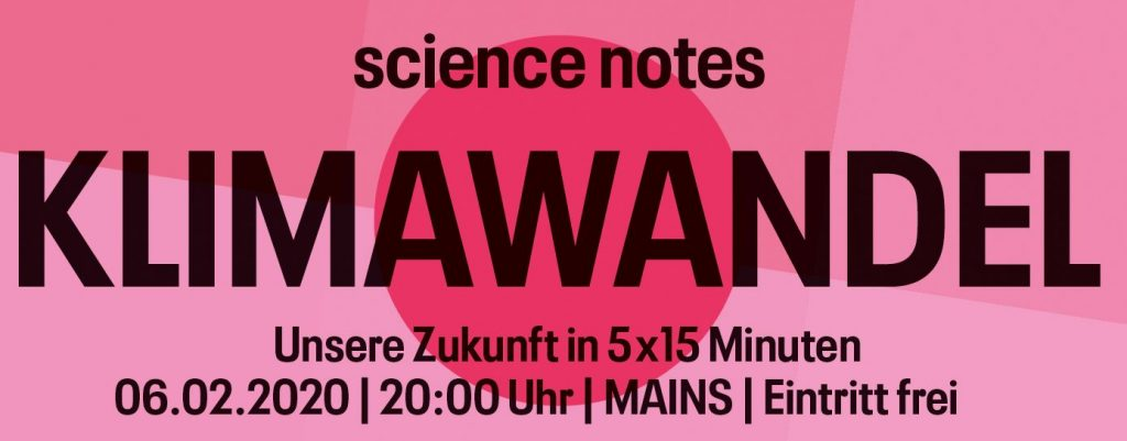 Science Notes Klimawandel