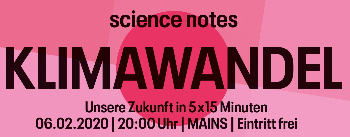 Science Notes Klimawandel