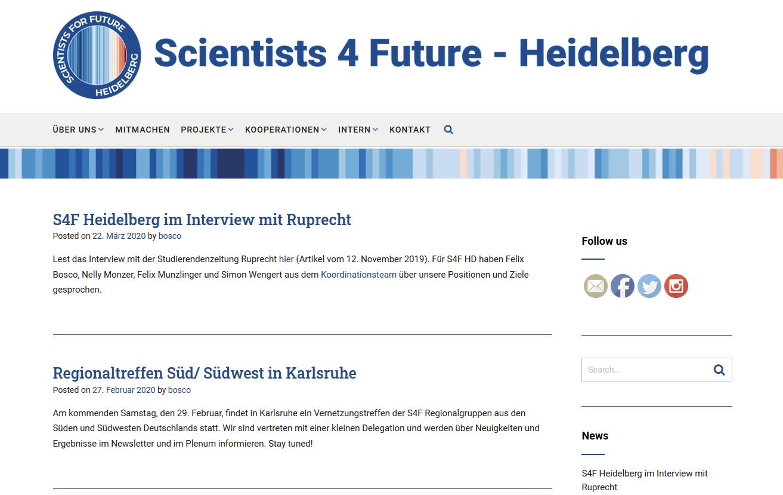 Scientists for Future Heidelberg