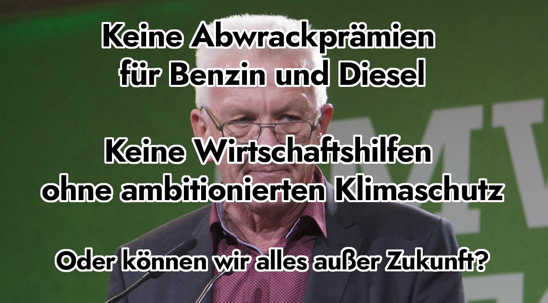 Abwrackprämie Brief Winfried Kretschamnn