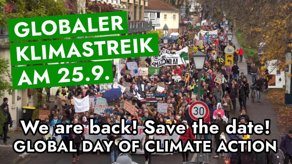 Globaler Klimastreik 25.09.2020